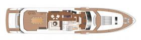 Princess 40M upper deck