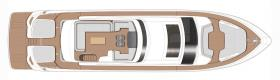 PRINCESS S78 SPORTBRIDGE