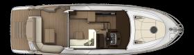 Sessa marine C42 main deck